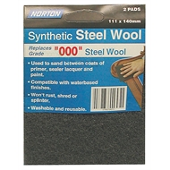 Norton Wool Pads 111x140mm Steel Charcoal