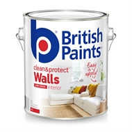 British Paints 2L Clean & Protect Low Sheen Red Interior Paint