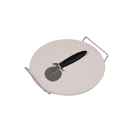 Jumbuck Pizza Stone Set With Cutter