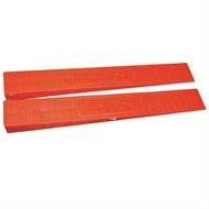Fox Wedges Plastic - 100 Pack