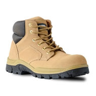 Bata Wheat Cobra Lace Up Safety Boot - Size 7