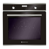 Parmco 600mm 76L Stainless Steel 8 Function Oven