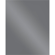 Stein Glass Splashback 750x900mm Silver
