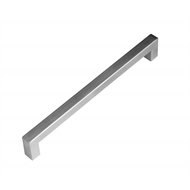 Kaboodle Handles Bar Handle 192mm Brushed Stainless Steel