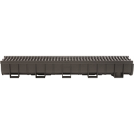 Everhard 100 x 1000mm Easy Drain Channel and Grate