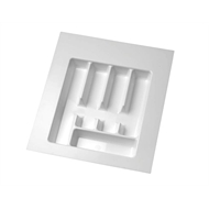 Italio Cutlery Tray Insert 434 x 434mm White