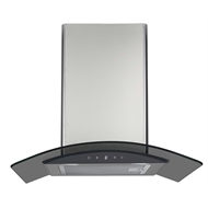 Everdure 600mm Smoked Black Glass Canopy Rangehood