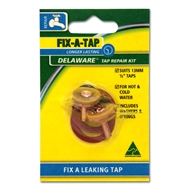 Fix-A-Tap 13mm Delaware Tap Repair Kit - 2 Pack