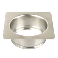 Insinkerator 115 x 115mm Square Sink Adaptor
