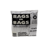 Bag of Rags 1.5kg Bag Of White Rags