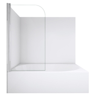 Stein 790 x 1430mm Novo Bathscreen