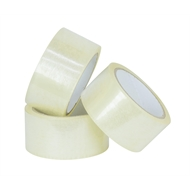 Wrap & Move 48mm x 50m 45um Clear Packing Tape - 3 Pack