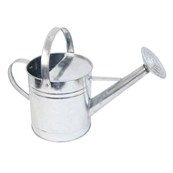Malloy Metal Watering Can 9L Galvanised