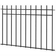 Peak No Dig 1200mm Manchester Fence Panel