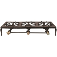Campmaster Triple Burner Cast Iron Country Cooker