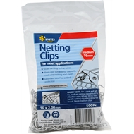 Whites 16mm Netting Clips - 500 Pack