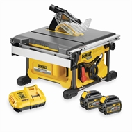 DeWALT 54V 210mm Flexvolt Cordless Table Saw