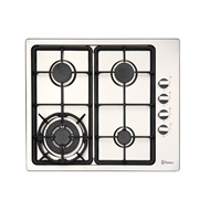Parmco 600mm 4 Burner Gas Hob With Wok
