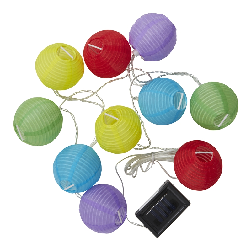 Rouge Living String Lights Nz : Rouge Living Solar Festive Lanterns Stringlight Multi Colour SKU 04350634 Bunnings Warehouse