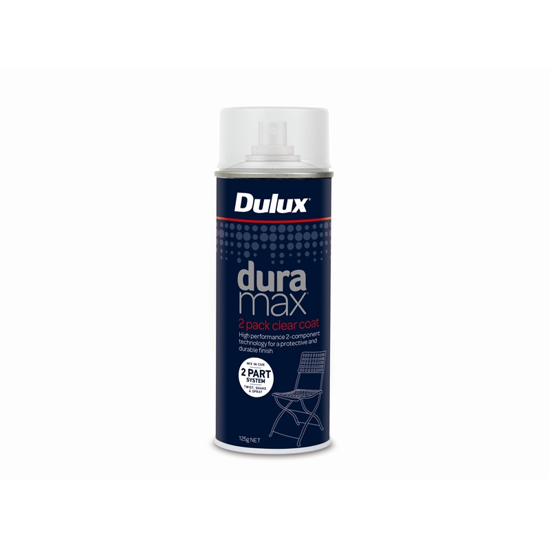 Dulux Duramax 2pk Clear Coat 125g Spray Paint Bunnings Warehouse