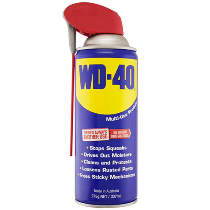 wd 40 275g smart straw aerosol can bunnings warehouse. Black Bedroom Furniture Sets. Home Design Ideas