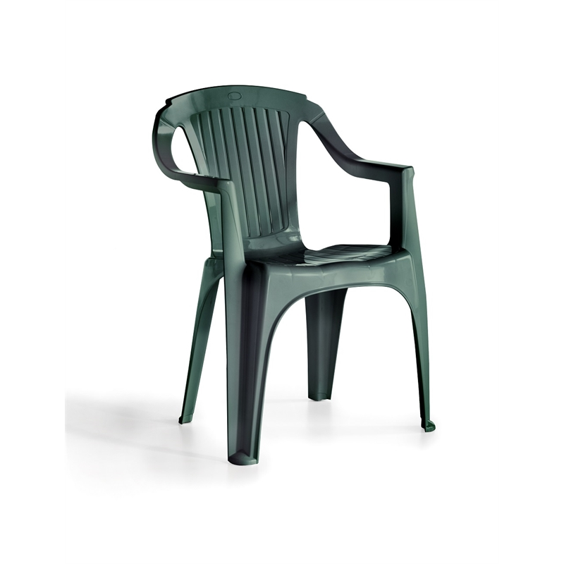Marquee Green Resin Verona Chair