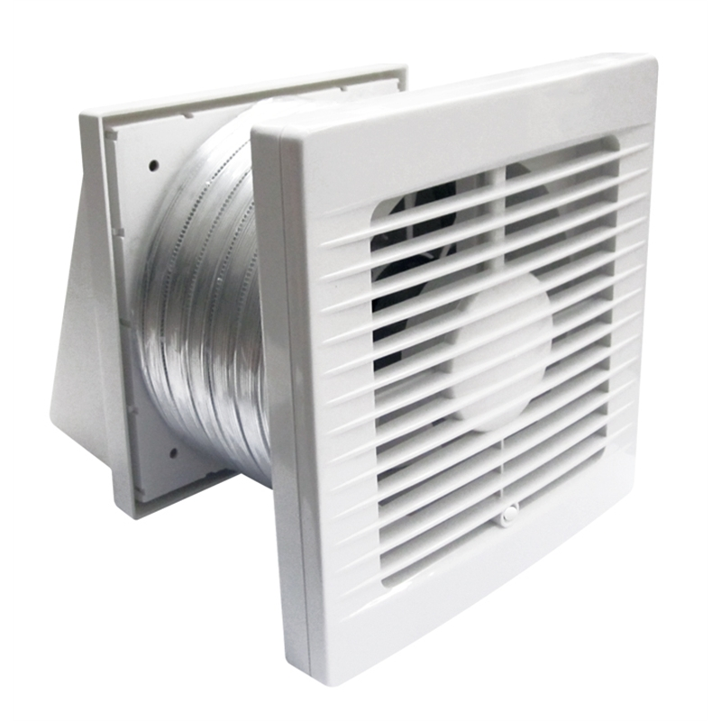 Through Wall Bathroom Exhaust Fans: Manrose Bathroom Wall Exhaust Fan Kit 150mm