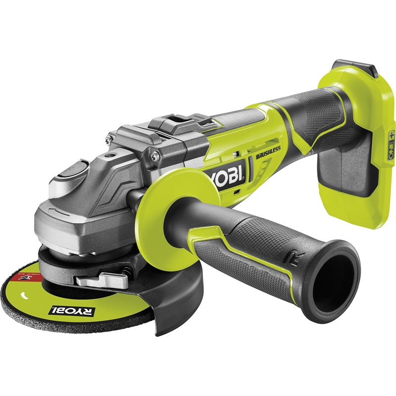 ryobi 18v one brushless angle grinder bunnings warehouse. Black Bedroom Furniture Sets. Home Design Ideas