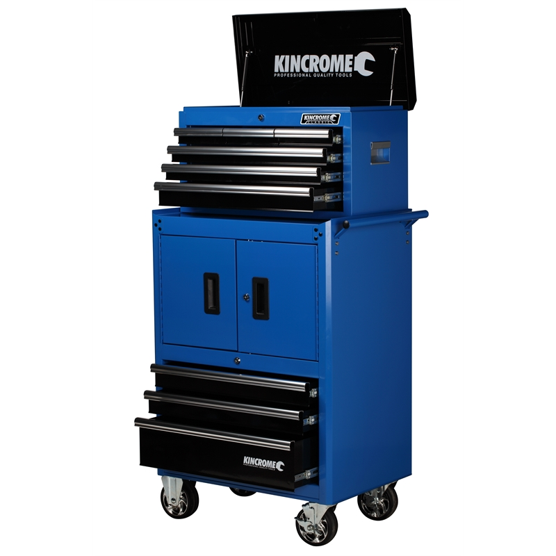 Kincrome Tool Chest with Trolley Kincrome 9 Drawer Combo ...