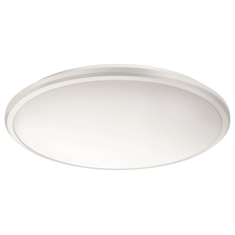 Philips 29cm warm white slimline led oyster ceiling light mozeypictures Gallery