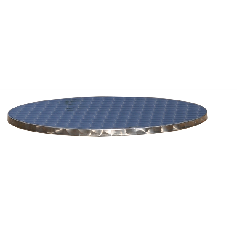 Marquee Table Top Round 600mm Stainless Steel