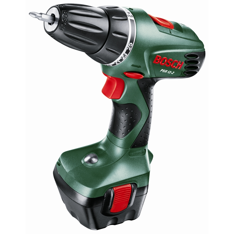 bosch cordless drill driver psr 12 2v drill driver 0603916j40 sku 00201712 bunnings warehouse. Black Bedroom Furniture Sets. Home Design Ideas