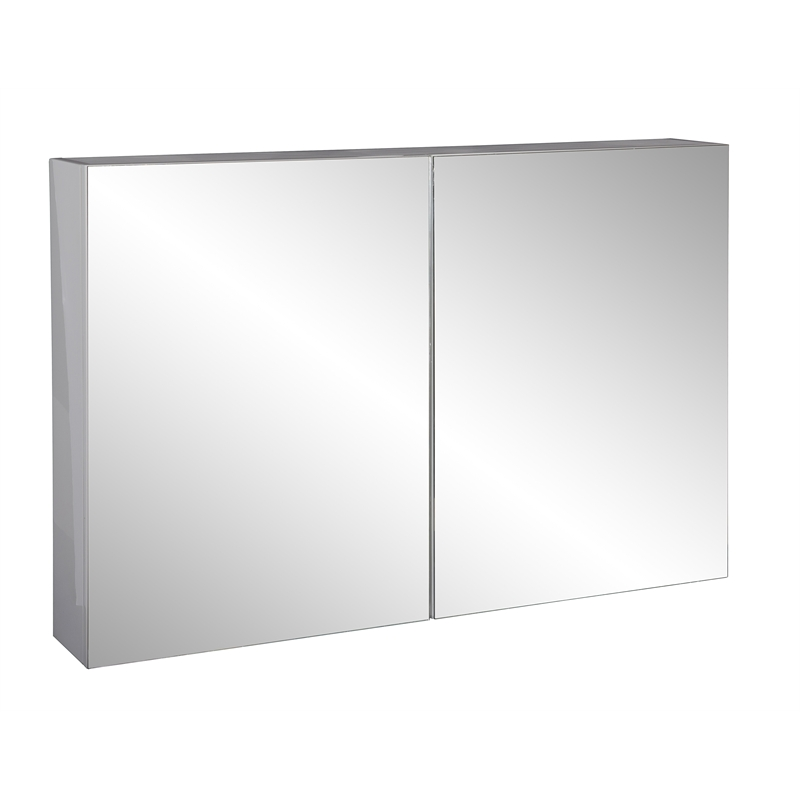 Genial Stein 900 X 600mm White Stylo Bathroom Cabinet With Mirror Doors