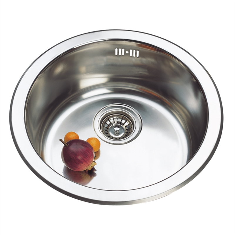 Project 450 X 180mm Stainless Steel Round Sink Insert