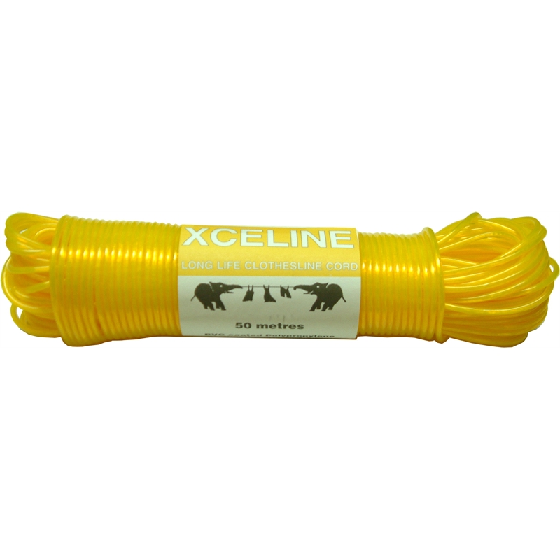 Xcel Pvc Coated Clothesline Cord 50m Bunnings Warehouse