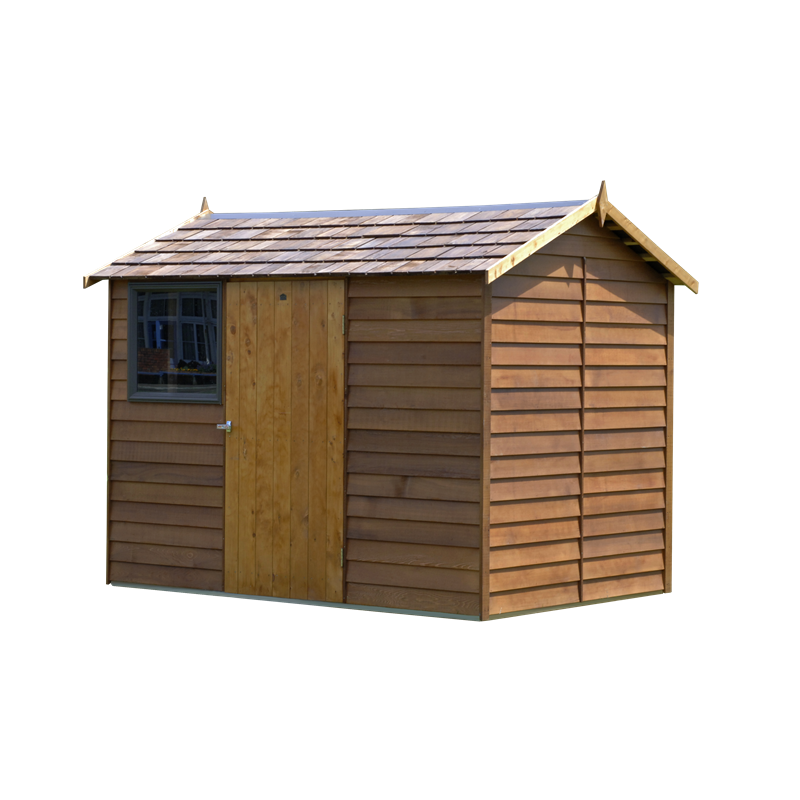 Cedar logan shingle roof shed bunnings warehouse for Cedar shingle shed