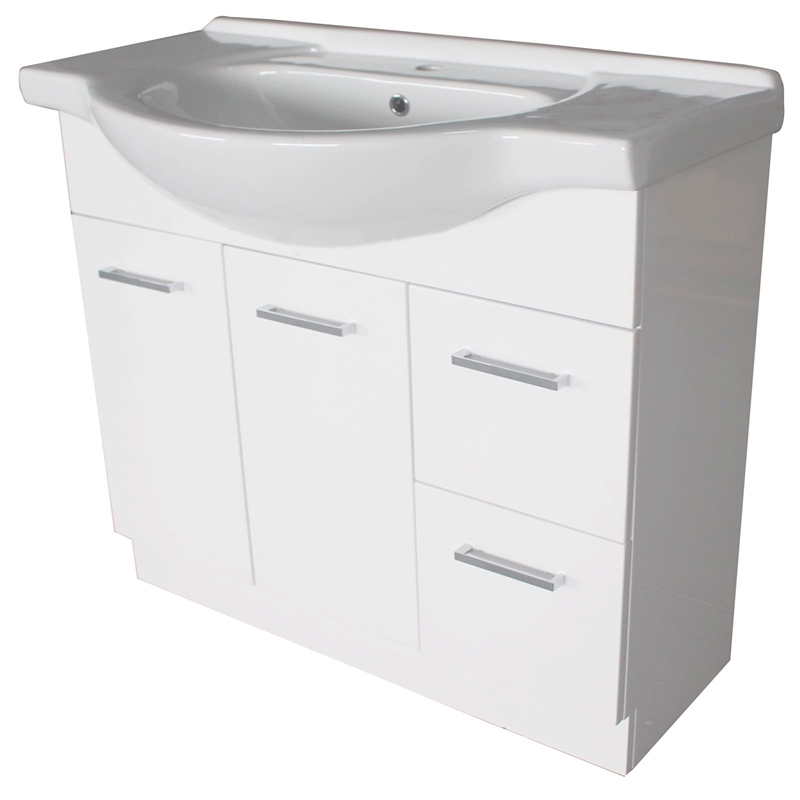 bunnings bathroom cabinets estilo 900mm semi recessed vanity cabinet only 12206 | 81e005b8 9bcb 42f5 9eea 4e9d6185fe34