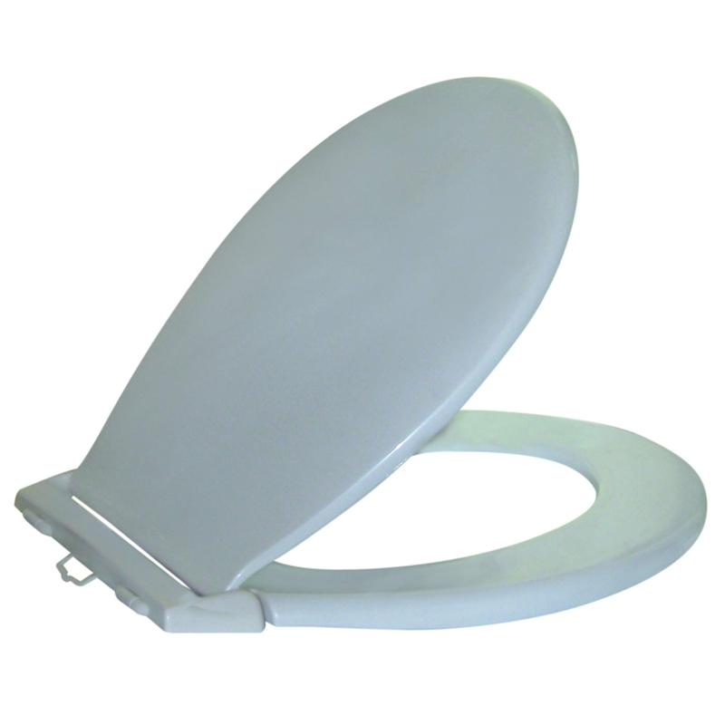 royal blue toilet seat. Royal Blue Toilet Seat  Cachet Quiet Close Elongated Closed Front With Grip Tight Bumpers In White