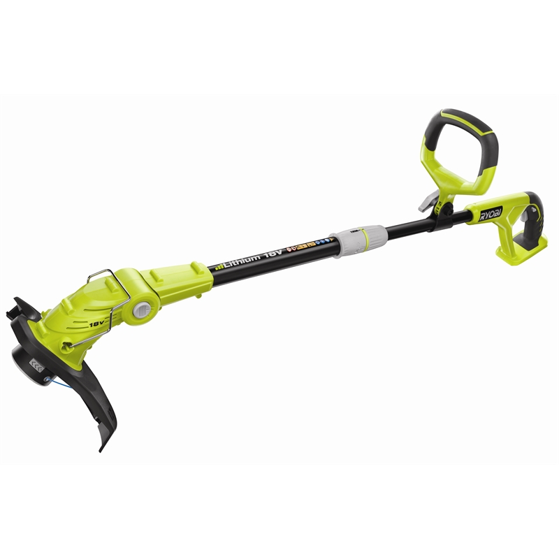 ryobi one 18v line trimmer skin only bunnings warehouse. Black Bedroom Furniture Sets. Home Design Ideas