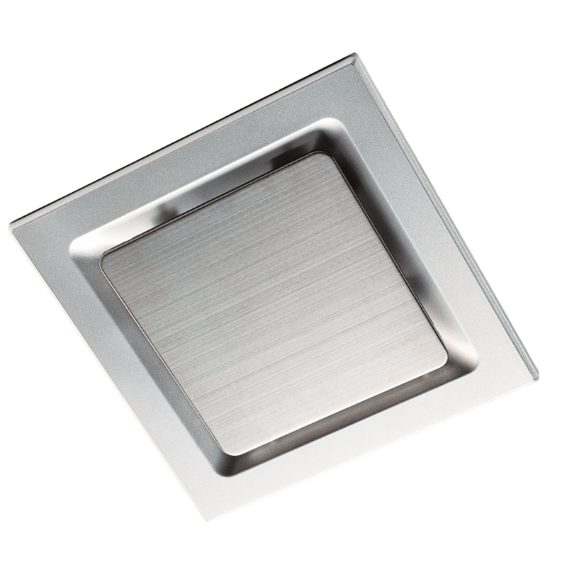 Comfort Maker Square Exhaust Fan 200mm Silver | Bunnings ...