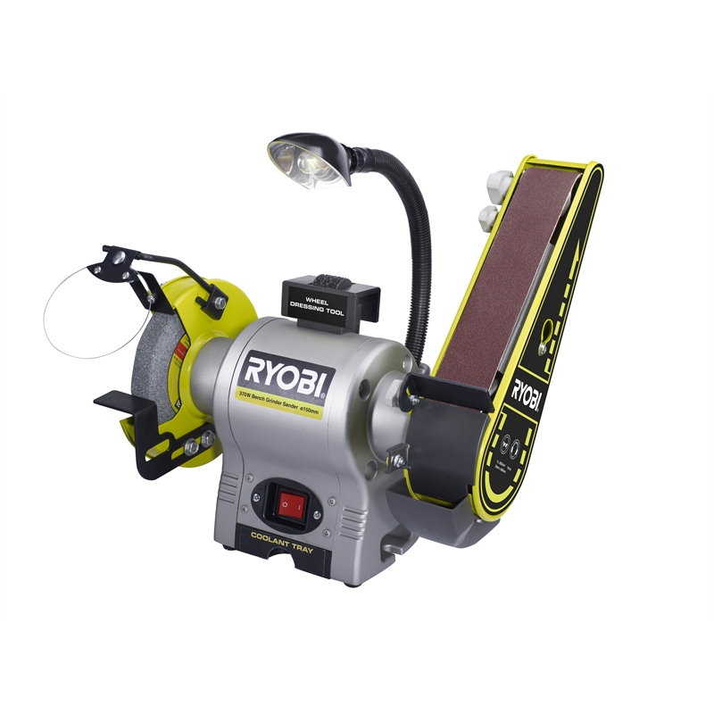 Ryobi Bench Grinder Sander 375w Bunnings Warehouse