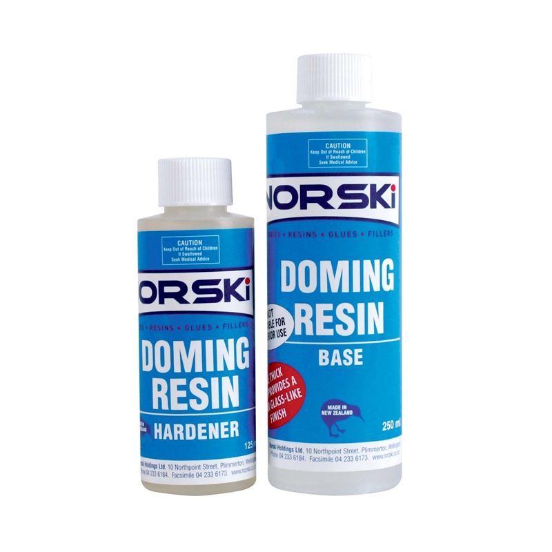 Norski Epoxy Doming Resin
