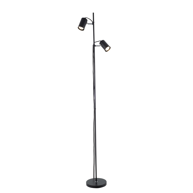 verve maja led floor lamp black bunnings warehouse With led floor lamp bunnings