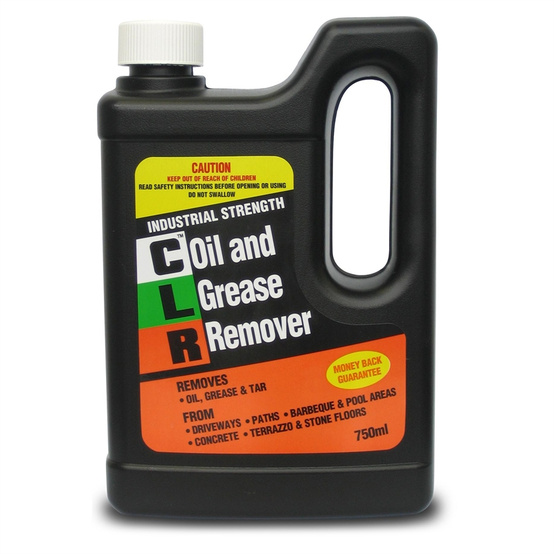 Clr oil grease remover 750ml bunnings warehouse for Cleaning oil off cement