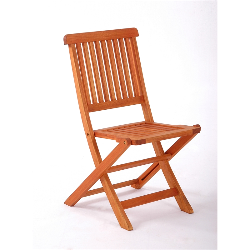 Mimosa Somerset Folding Timber Chair Bunnings Warehouse