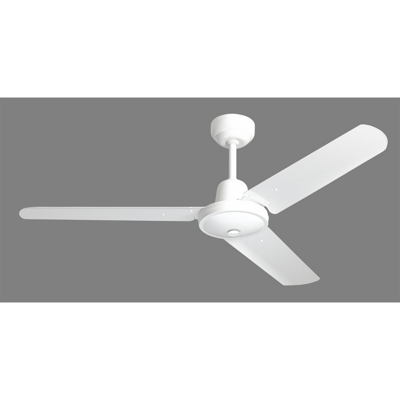 HPM Hang Sure Ceiling Fan 1200mm White
