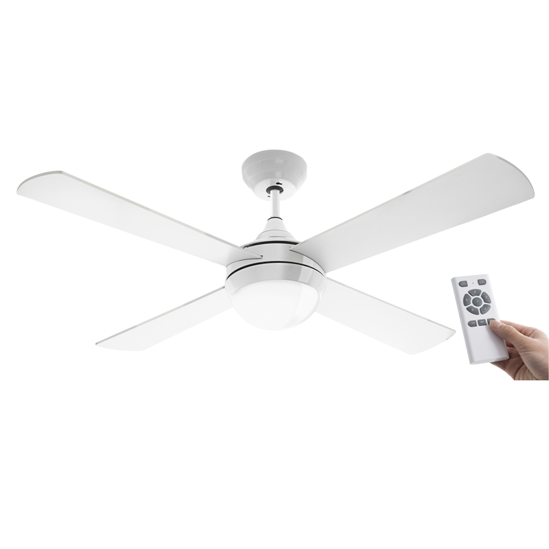 Arlec 120cm white columbus ceiling fan with remote bunnings warehouse arlec 120cm white columbus ceiling fan with remote asfbconference2016 Image collections