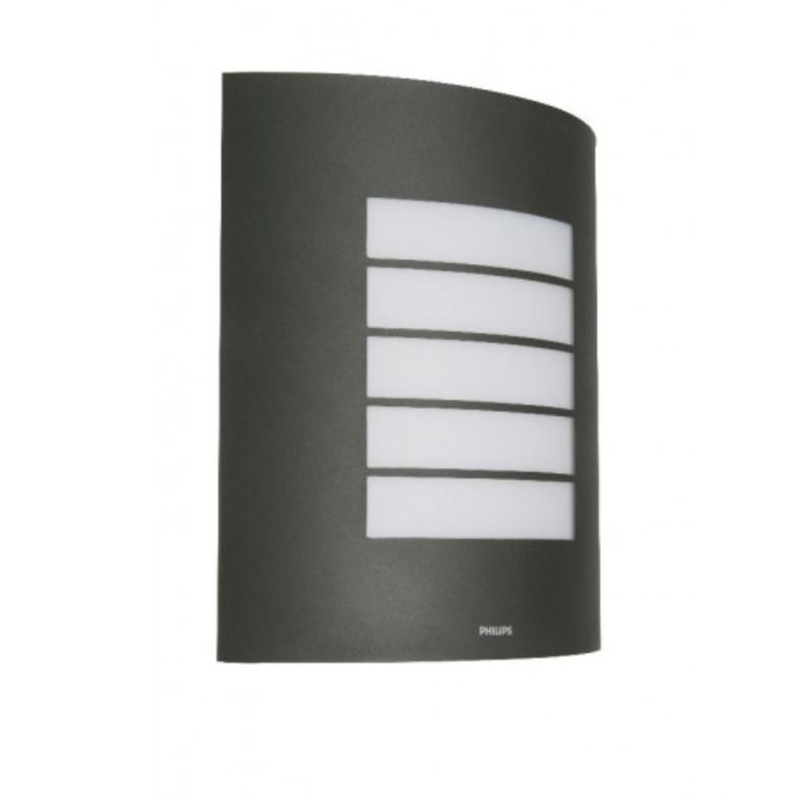 Anthracite Garden Wall Lights : Philips Outdoor Wall Light Anthracite SKU 00401629 Bunnings Warehouse