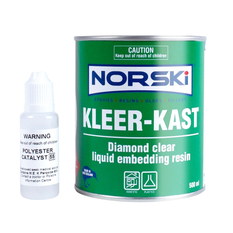 Norski 500ml Kleer-Kast Resin