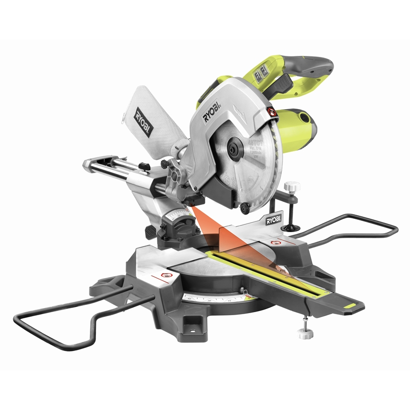 Ryobi Slide Compound Mitre Saw 2000W 254mm